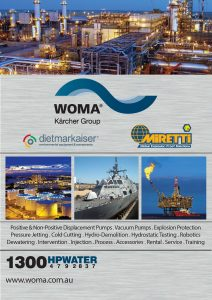 High & Ultra High Water Jetting Pumps & Equipment | WOMA Australia