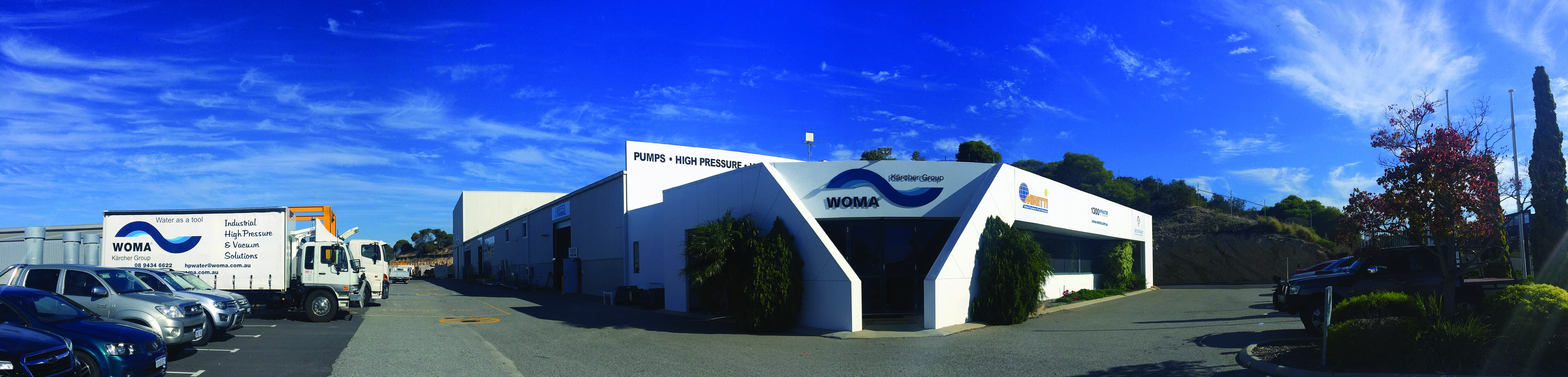 High & Ultra High Water Jetting Pumps & Equipment | WOMA